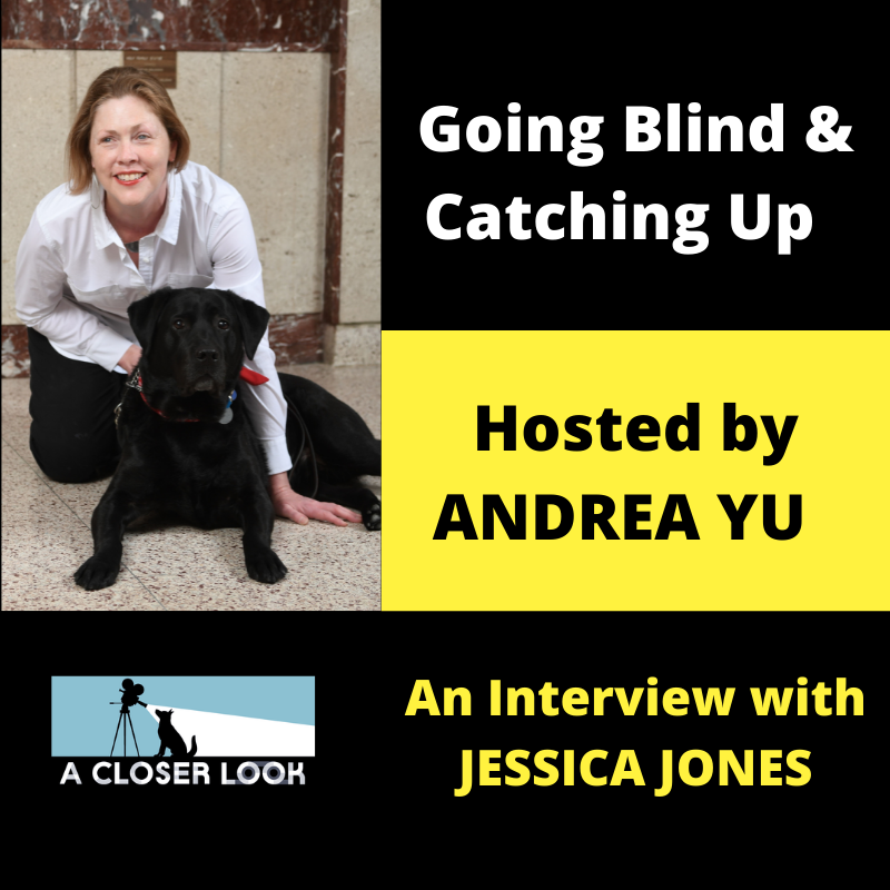 Going Blind & Catching Up with Andrea Yu: Jessica Jones